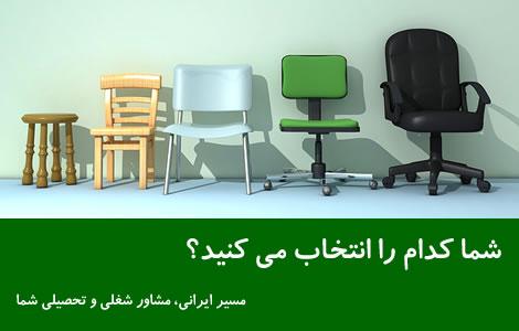 مسیر ایرانی مشاور شغلی شما