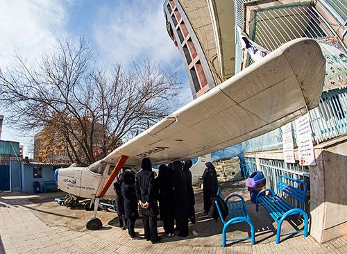 مدرسه هوانوردی و خلبانی دختران