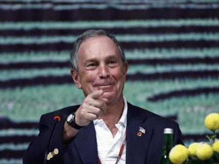 Michael Bloomberg  مسیر ایرانی