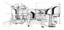 اسکیس معماری مهندسی معماری