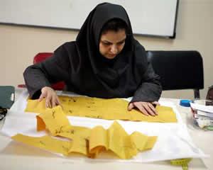 خیاطی - مسیر ایرانی