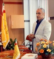 رئیس شعبه بانک مسیر ایرانی