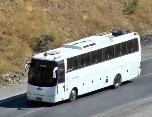 هزینه بلیت اتوبوس از تهران به شهرهای شمالی / جدول