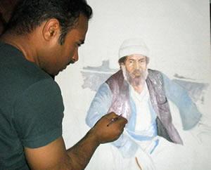 نقاش - مسیر ایرانی